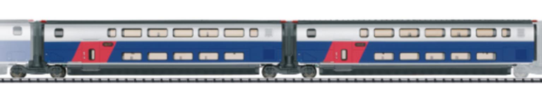 SNCF TGV Euroduplex R2/R3 Coach Set (2) VI