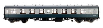 BR Blue/Grey SK MK1 Coach M25362 (DCC Fitted)