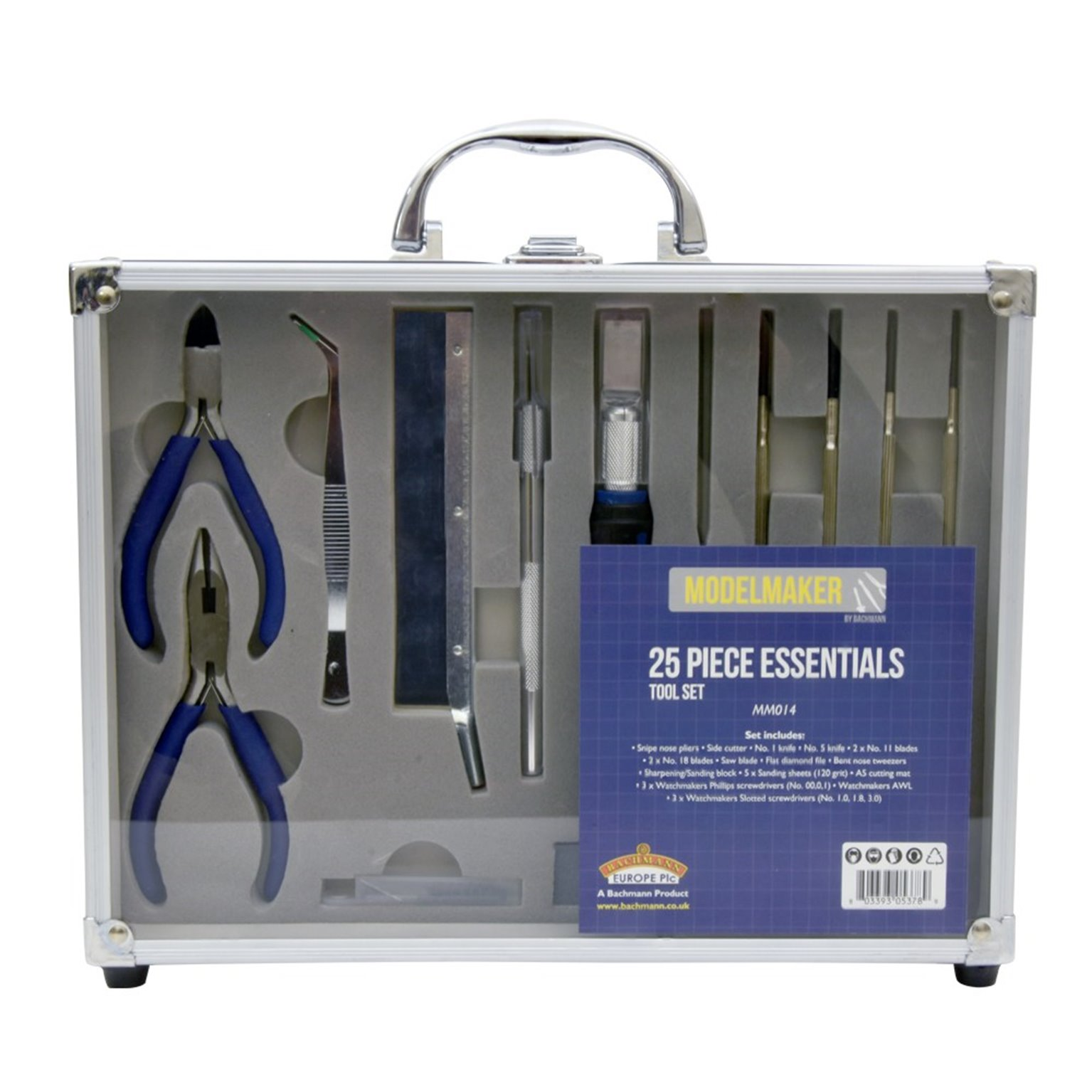 25 Piece Essential Model Maker Tool Set