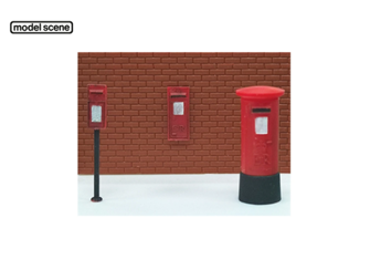 Post Boxes (6 assorted)