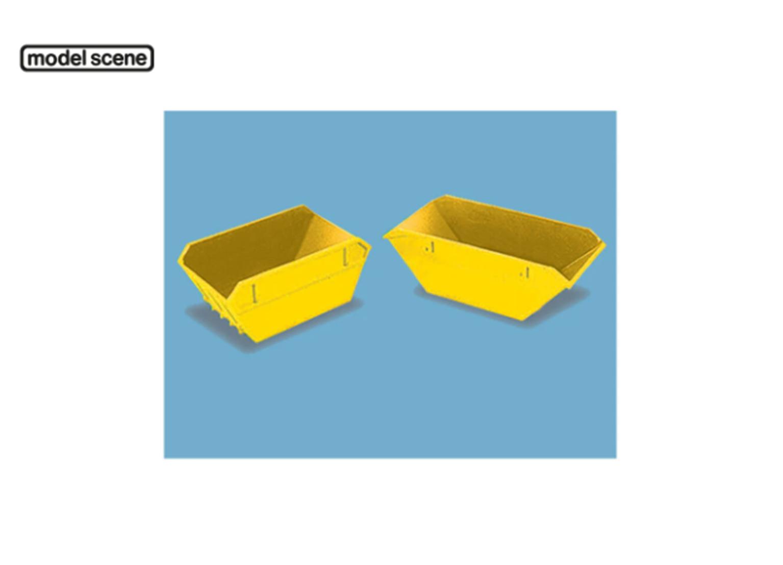 Modelscene 5088 Skips (large & small), yellow (no name)