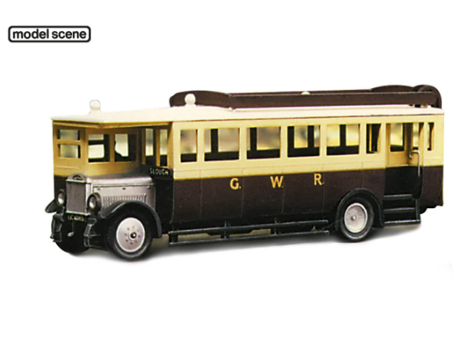 Maudslay Bus - Great Western Railway Vehicle Kit