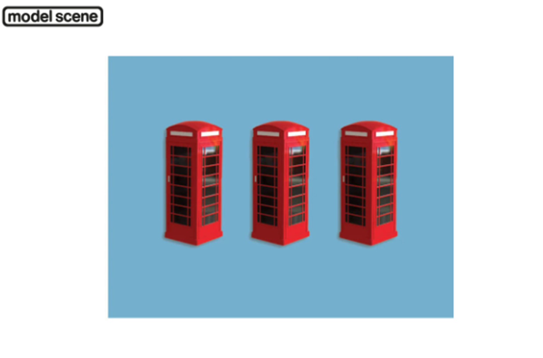 Modelscene 5190 Telephone Boxes