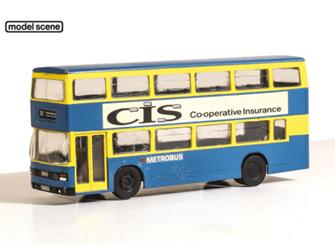 Leyland Olympian Double Decker Bus, London Buses Metro