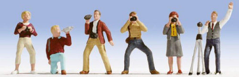 Figures - Photographers (6) Set