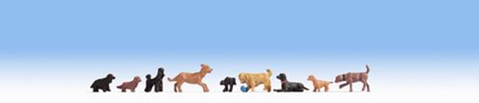 Figures - Dogs - Set Two (9)