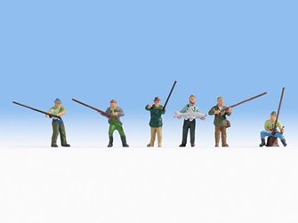 Noch 15892 Fishermen (6) Figure Set