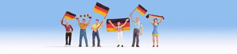 Figures - German Football Fans (6) Set