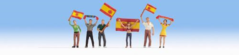 Figures - Spain Football Fans (6) Set