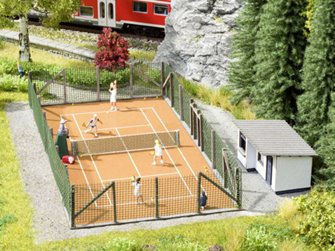Noch 65615 Tennis Court Scenery Set