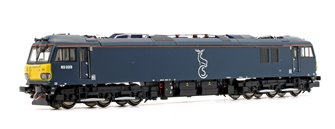 Class 92 023 Caledonian Sleeper Electric Locomotive