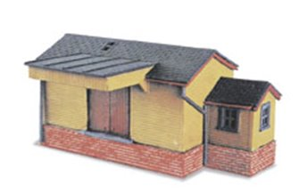 Wooden Goods Shed