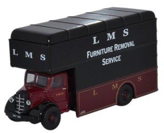 Oxford Diecast NBP004 LMS Bedford Luton Van