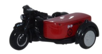 Oxford Diecast NBSA003 Motorbike/Sidecar Royal Mail