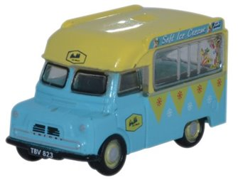 Oxford Diecast NCA002 Bedford CA Ice Cream Walls