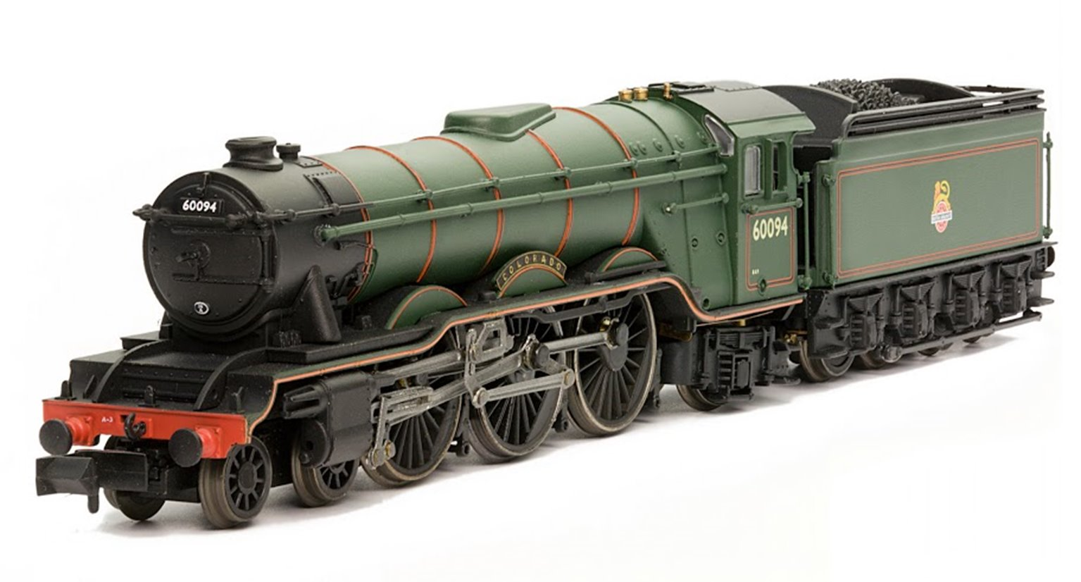 Class A3 'Colorado' #60094 BR Lined Green Early Crest