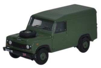 Oxford Diecast NDEF003 Land Rover Defender 110 Hard Top