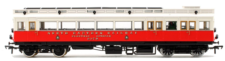 North Eastern Railway Electric Autocar No.3170 Red/Cream (1904-23)