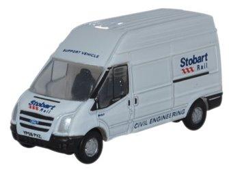 Oxford Diecast NFT010 Ford Transit LWB Eddie Stobart