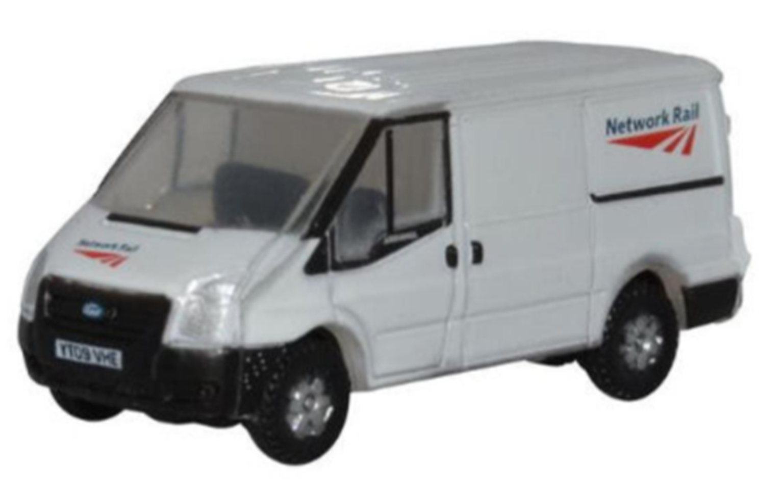 NFT023 Ford Transit Mk5 SWB Low Roof Network Rail