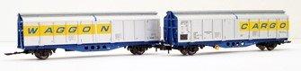 Original livery IZA Cargowaggon twin sets – single pack