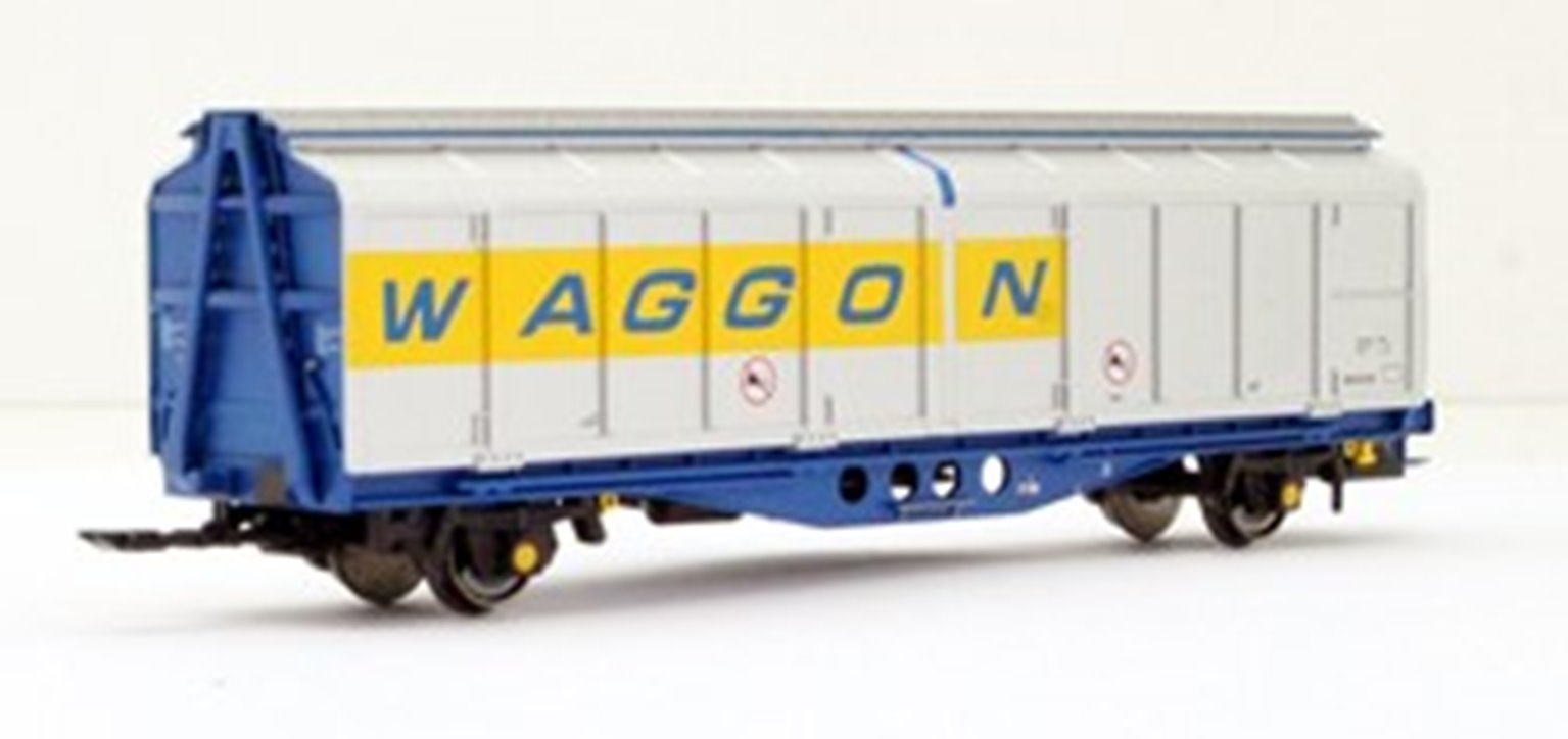 Revised livery IZA Cargowaggon twin sets – single pack