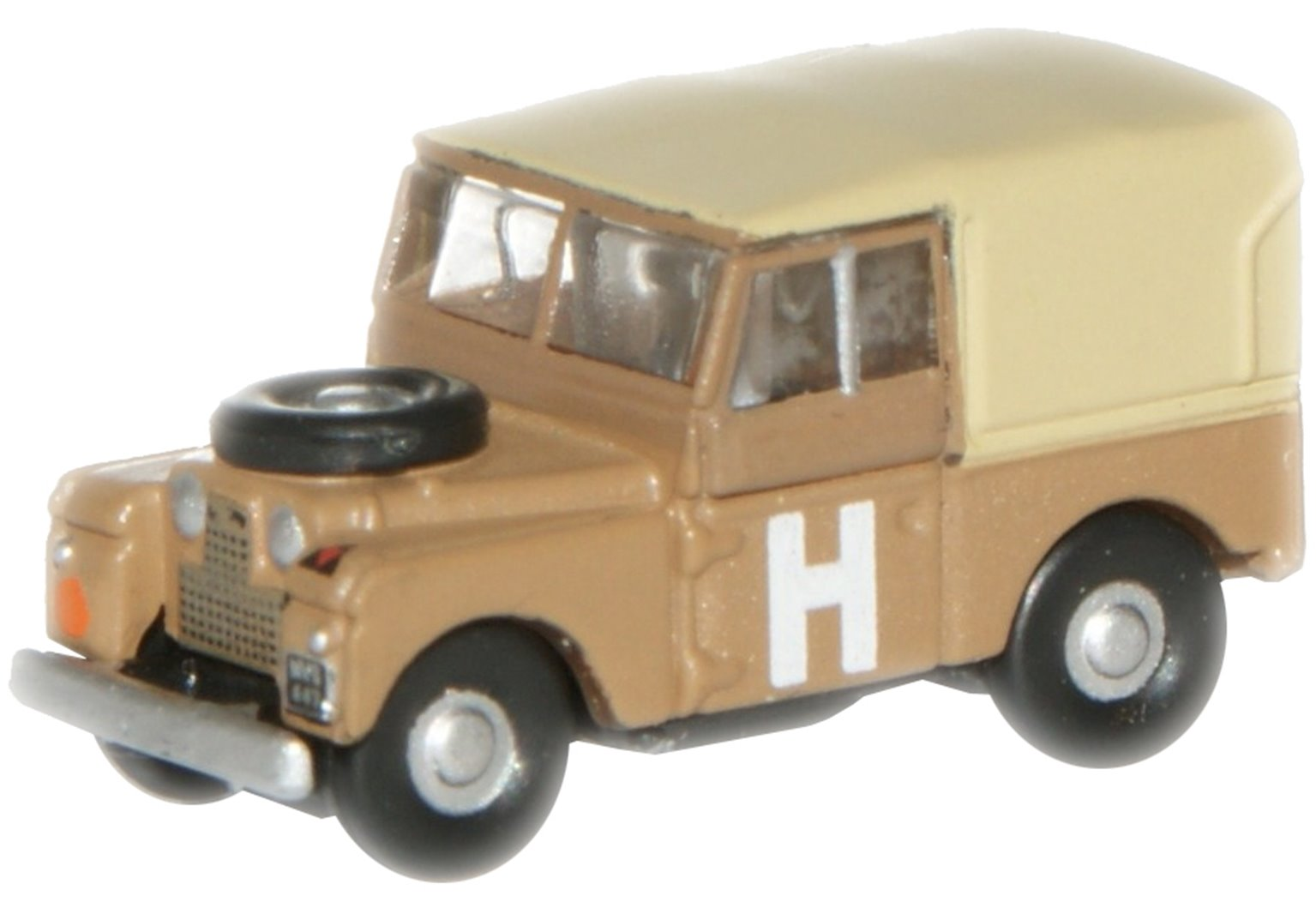 Sand Military Land Rover 88