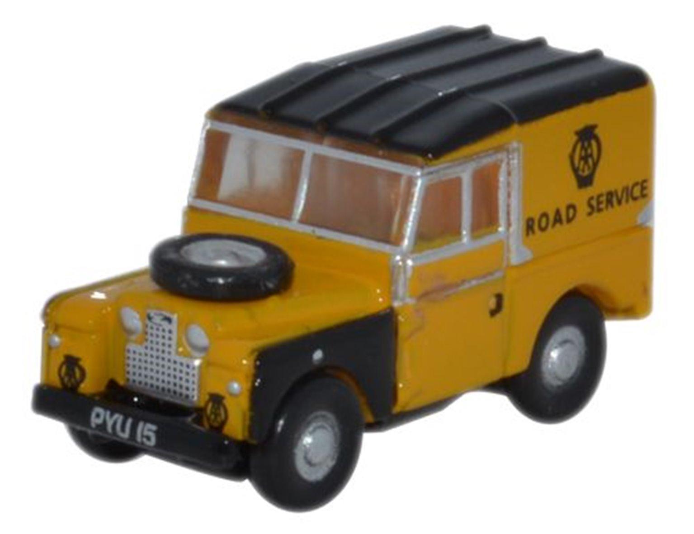 "Oxford Diecast NLAN188019 Land Rover Series 1 88"" Hard Top AA"