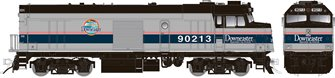 "Amtrak ""Cabbage"" NPCU – Phase IV ""Downeaster"" Scheme #90220 - DC/DCC/Sound"