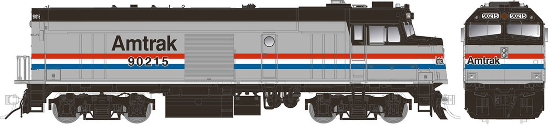 "Amtrak ""Cabbage"" NPCU – Phase III Scheme #90215 - DC/DCC/Sound"