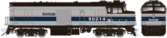 "Amtrak ""Cabbage"" NPCU – Phase IV Scheme #90229 - DC/DCC/Sound"
