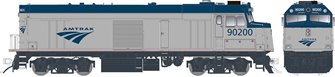 "Amtrak ""Cabbage"" NPCU – Phase V ""Swoosh"" Scheme #90225 - DC/DCC/Sound"
