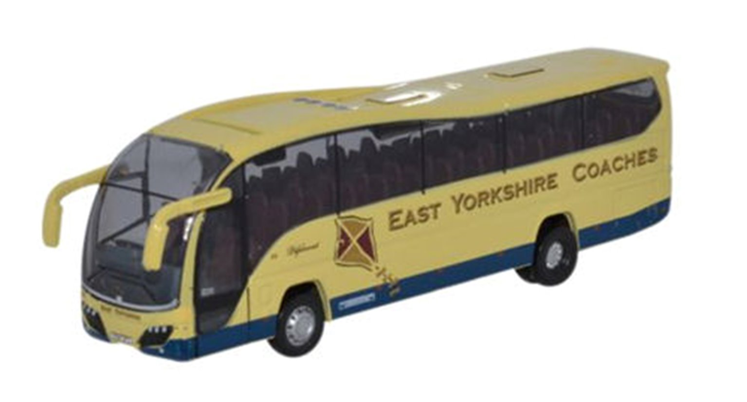 Oxford Diecast NPE009 Plaxton Elite East Yorkshire Coaches