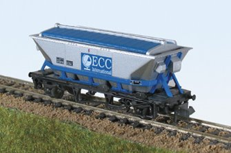 ECC Blue 'CDA' China Clay Hopper Wagon