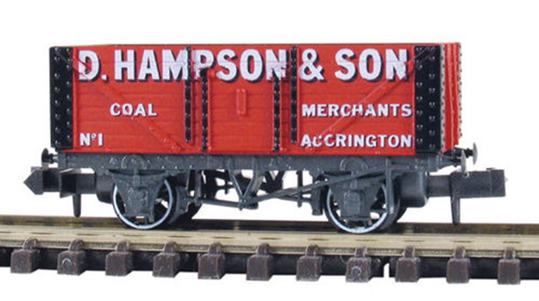 7 Plank Coal Wagon D.Hampson Accrington No.1