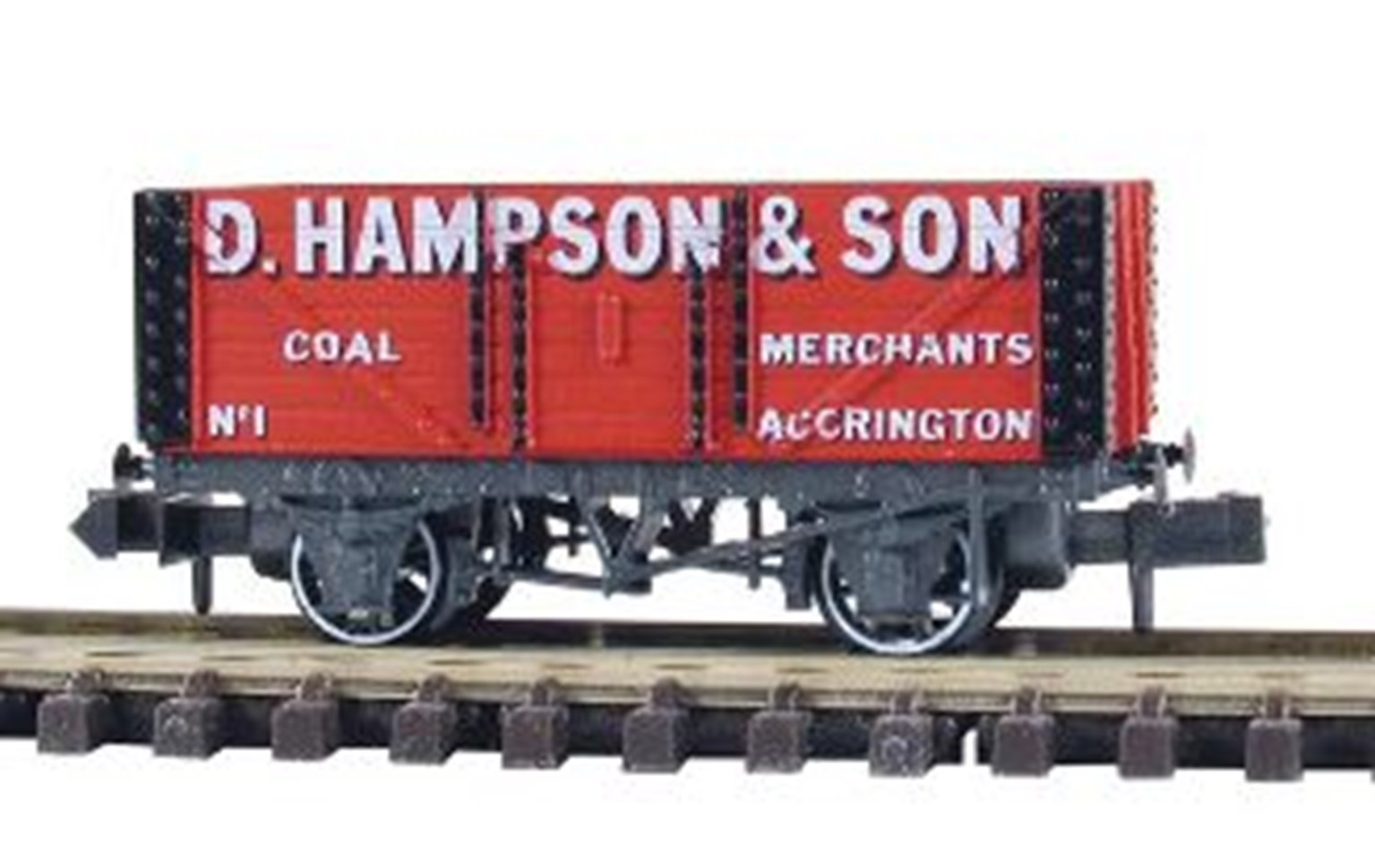 7 Plank Coal Wagon D.Hampson Accrington No.2