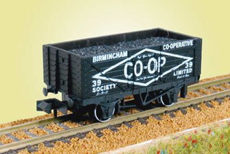 7 Plank Coal Wagon Birmingham Co-op No.39