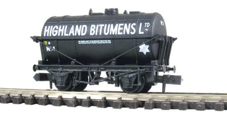 Highland Bitumens Tank Wagon No.1