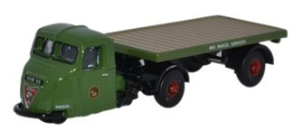 Oxford Diecast NRAB005 Scammell Scarab Flatbed BRS Parcels