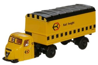 Railfreight Scammell Scarab Van Trailer