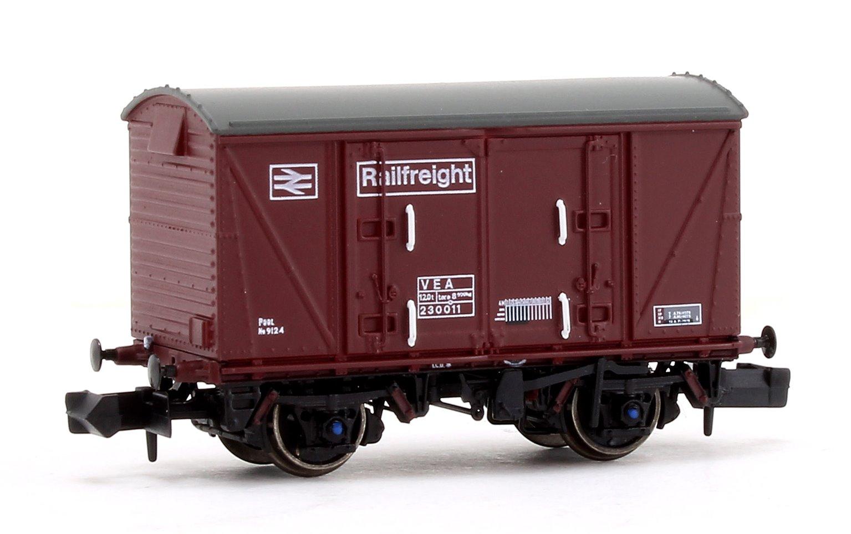 BR Maroon (Pristine) Railfreight VEA Munitions Van #230011