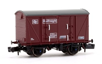 BR Maroon (Pristine) Railfreight VEA Munitions Van #230011