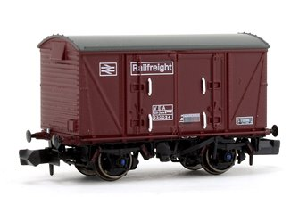 BR Maroon (Pristine) Railfreight VEA Munitions Van #230034
