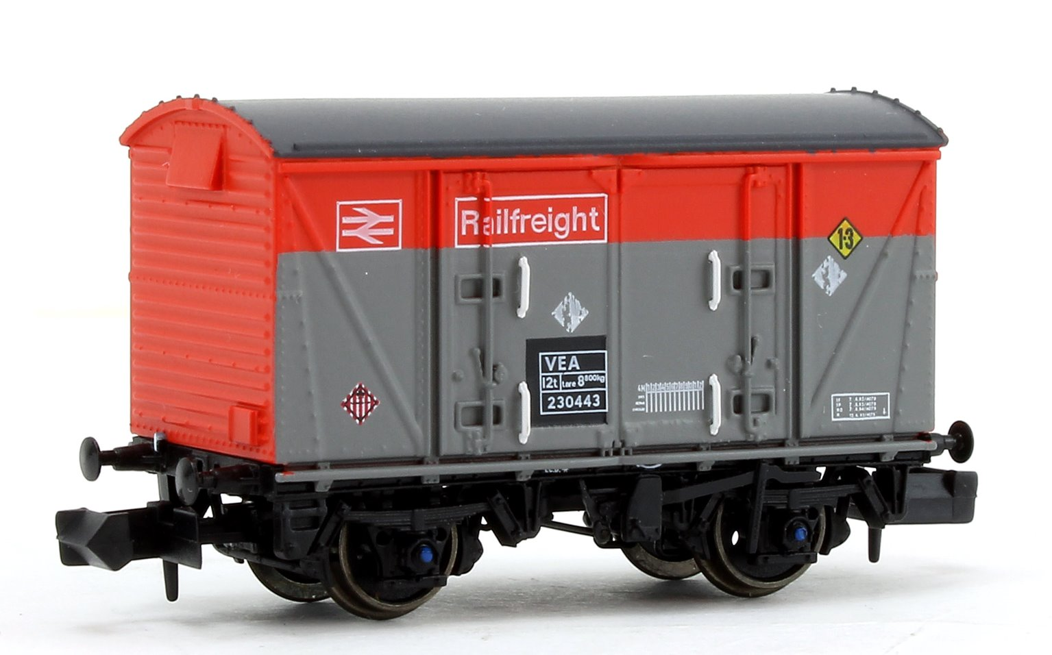 BR Railfreight Red/Grey (Pristine) VEA Munitions Van #230443