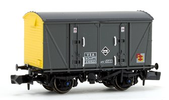 Railfreight Distribution Grey/Yellow (Pristine) VEA Munitions Van #230523