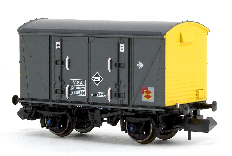 Railfreight Distribution Grey/Yellow (Pristine) VEA Munitions Van #230523