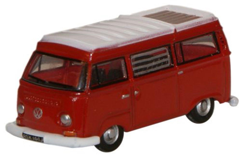 Senegal Red White VW Camper
