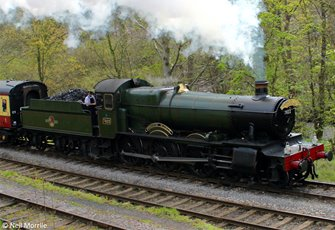 """Hook Norton Manor"" BR Lined Black (Early Emblem) 78xx Manor Class 4-6-0 Steam Locomotive No.7823"