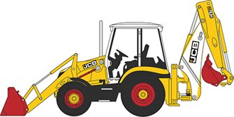 763CX003 JCB 3CX Eco Backhoe Loader 70th Anniversary
