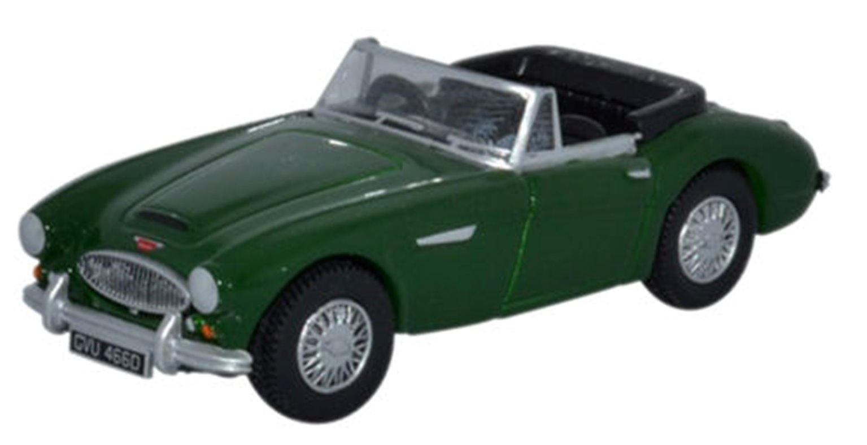 Austin Healey 3000 British Racing Green